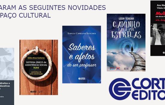 Lançamentos Editora CORTEZ