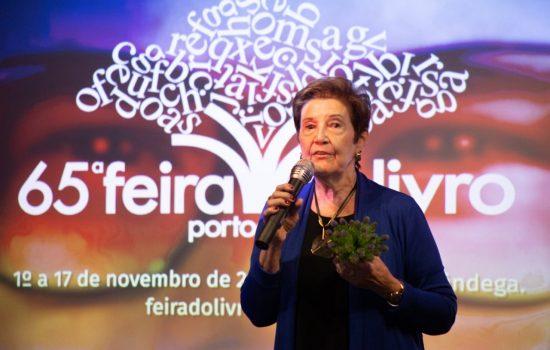 Marô Barbieri é a patrona da 65ª Feira do Livro de Porto Alegre!