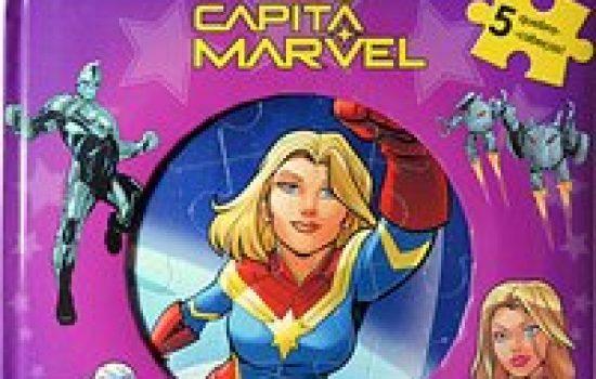 Capitã Marvel – Meu Primeiro Livro Quebra-Cabeças